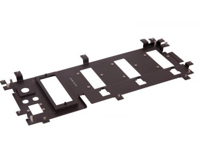 Metal frame for medical equipment